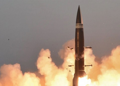 North Korea Fires Two Projectiles (Tue.)