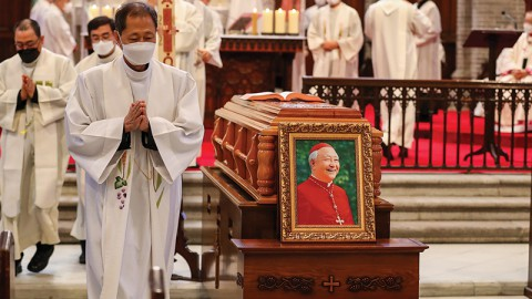 Cardinal Cheong Jin-suk Passes Away (Wed.)