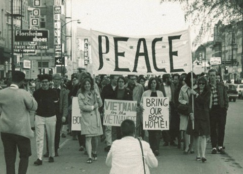 Protest Against the Vietnam War in Iowa (Fri.)