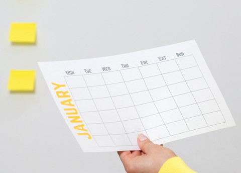 How Many People Fulfilled Last Year's Resolutions? (Tue.)