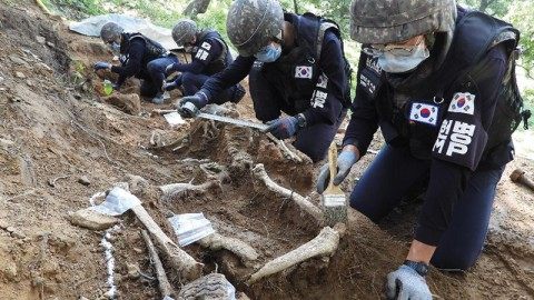 South Korea Resumes DMZ Excavation Project (Wed.)
