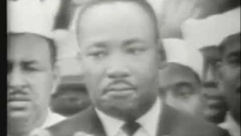 I have a dream – Martin Luther King
