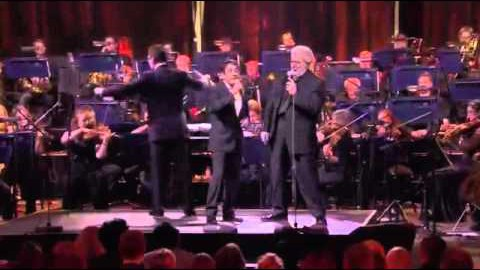 "Placido Domingo Jr & Placido Domingo in duet sing ""Perhaps Love"""