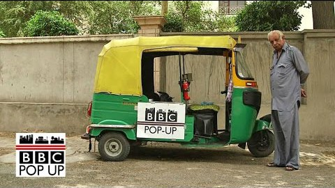 Uber vs Indian rickshaw across Delhi – BBC News