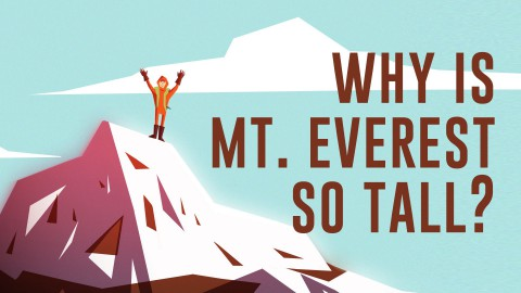 Why is Mount Everest so tall?